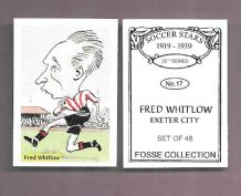 Exeter City Fred Whitlow 17 (FC)